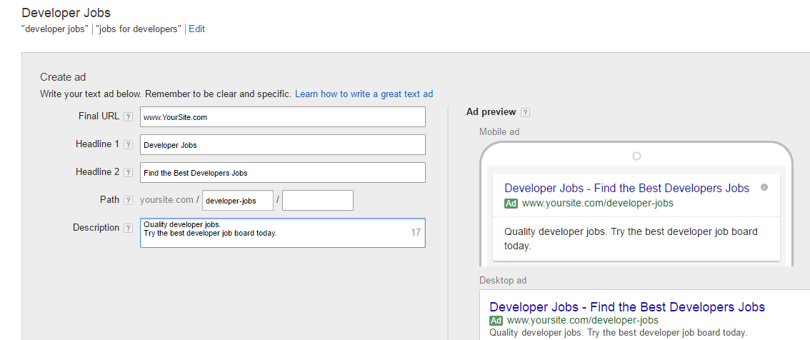 How to promote your job board with Google AdWords - Smartjobboard blog