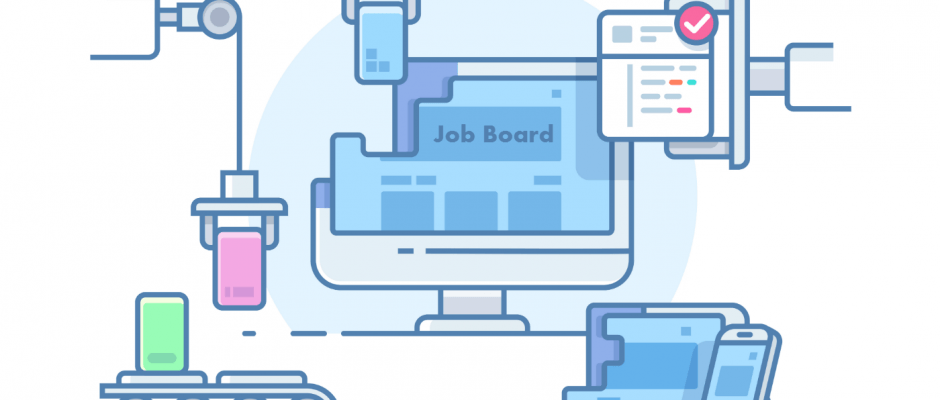 how to create job board