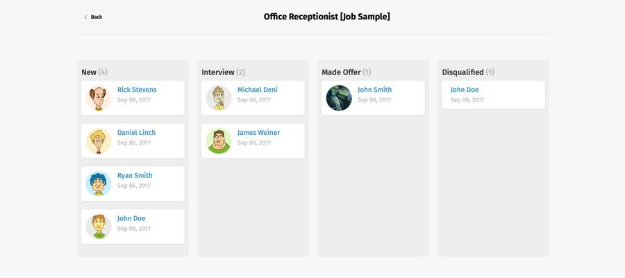 New Applicant Tracking Interface Is Now Available Smartjobboard Blog