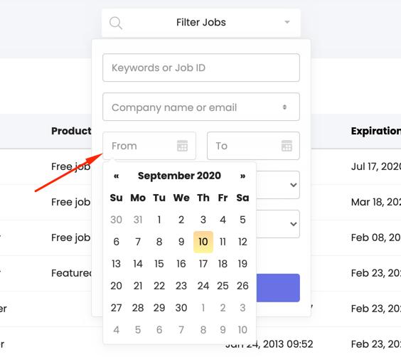 date-range