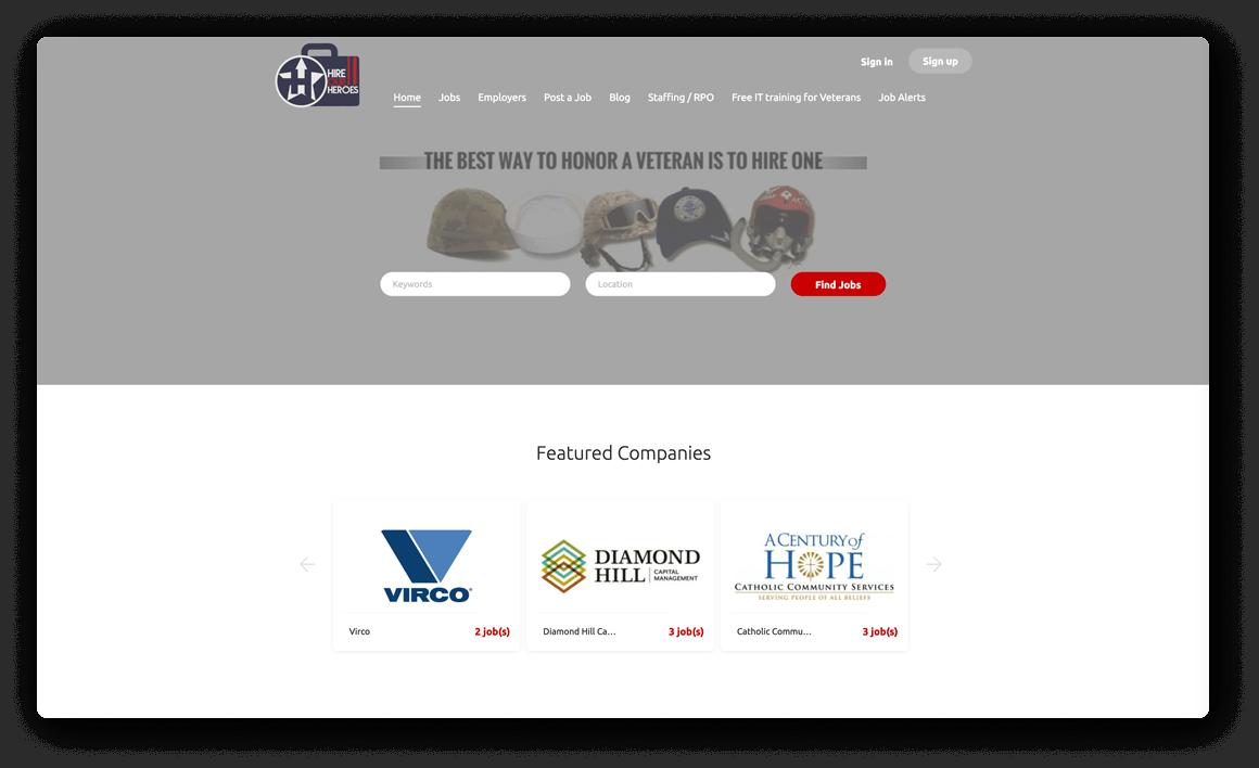 HireOurHeroes.com