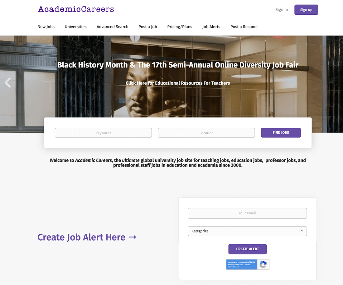 academiccareers.com