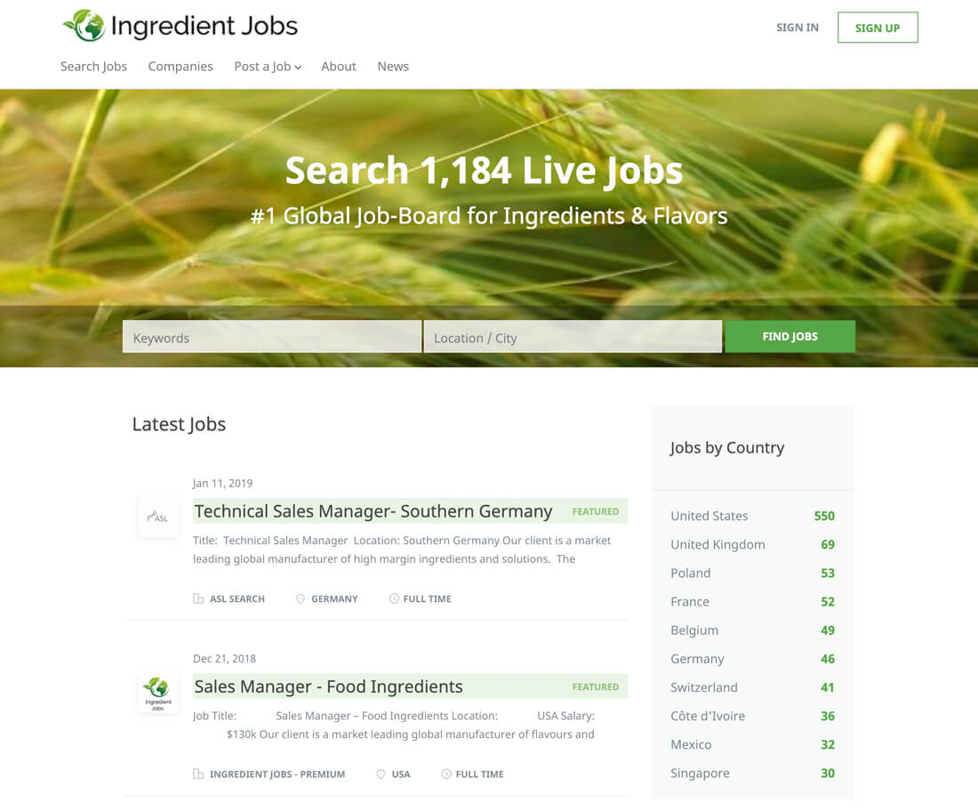 ingredientjobs.com
