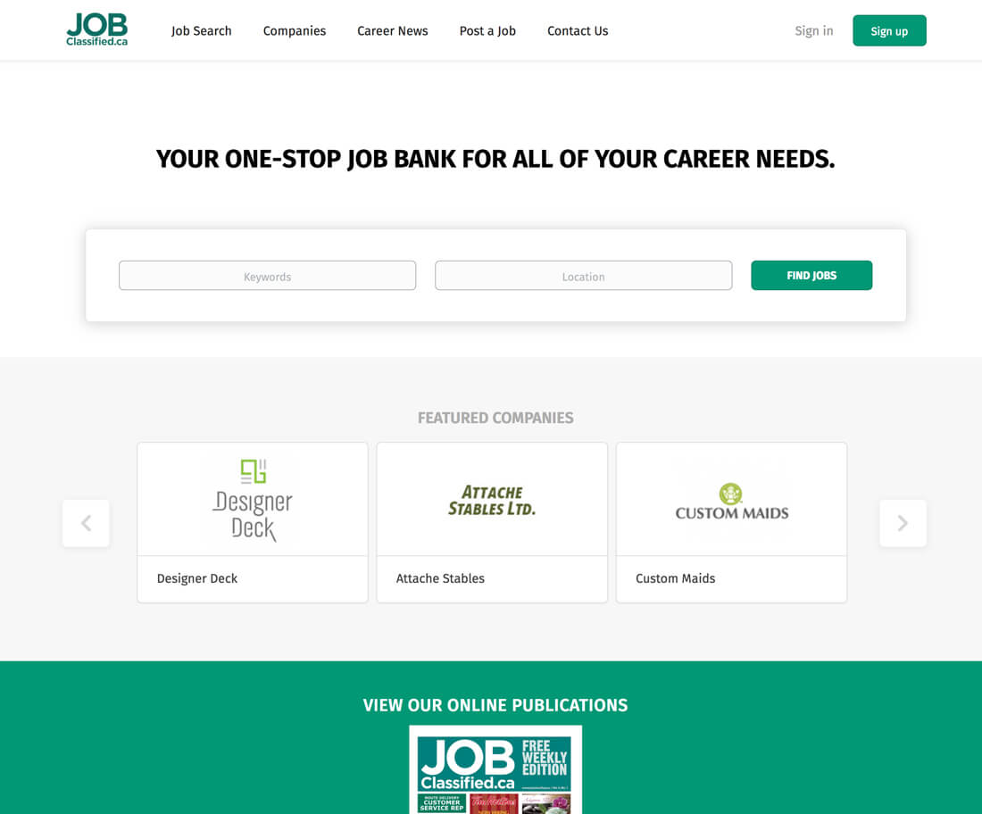 jobclassified.ca