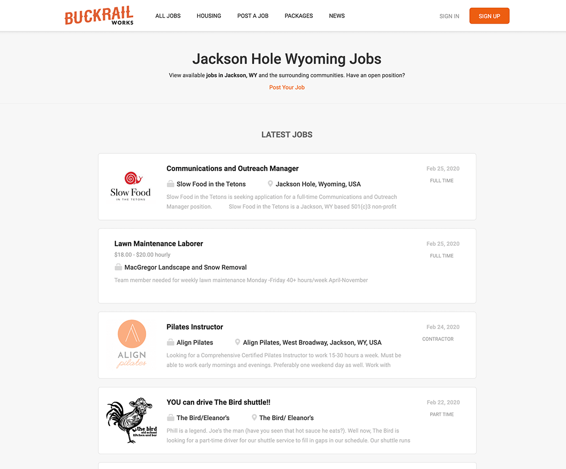 jobs.buckrail.com