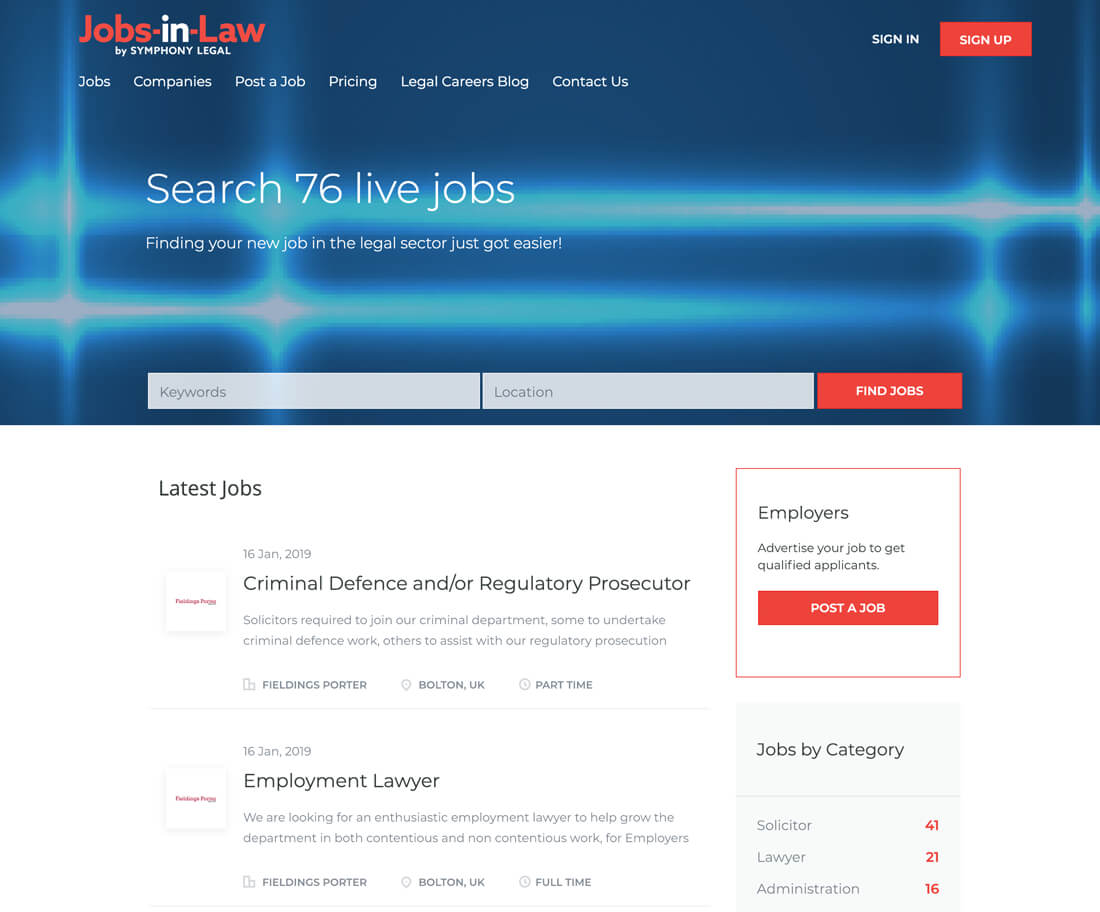 jobs-in-law.co.uk