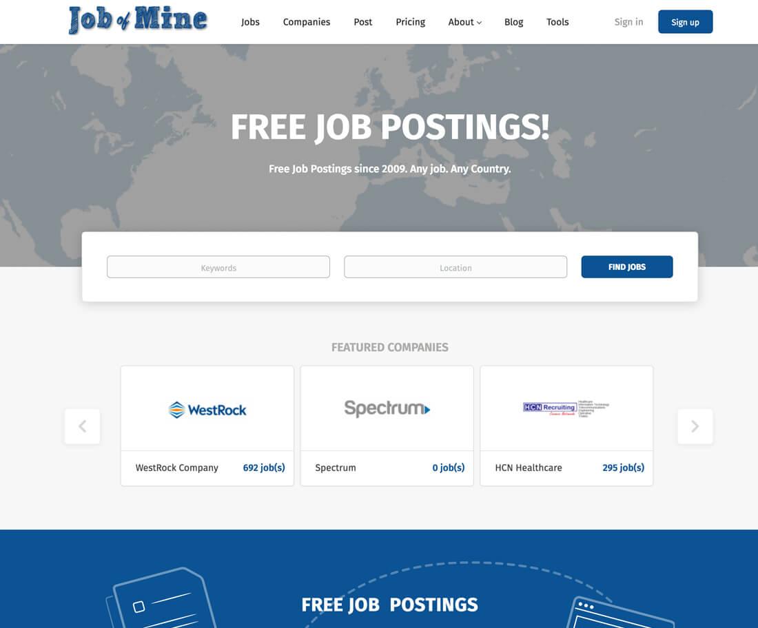jobofmine.com