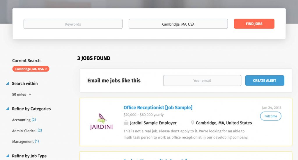 Job board features | Smartjobboard