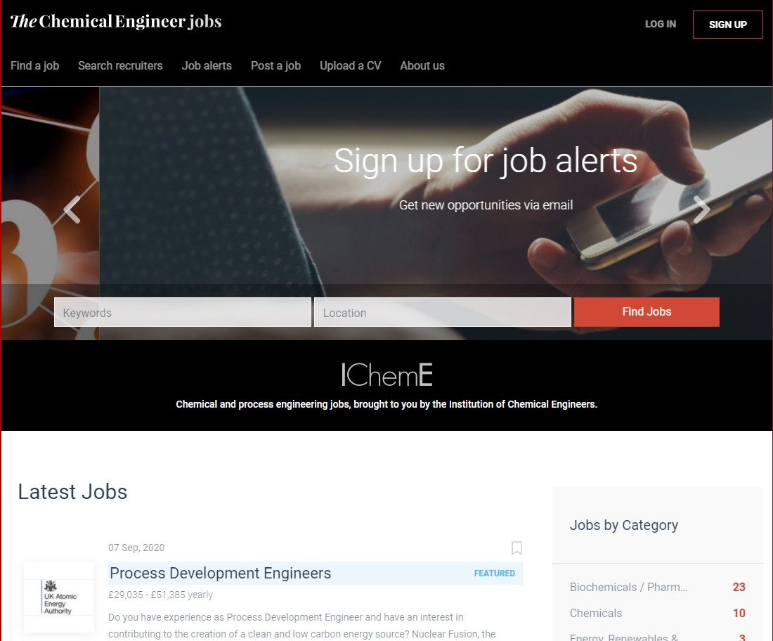 jobs.thechemicalengineer.com